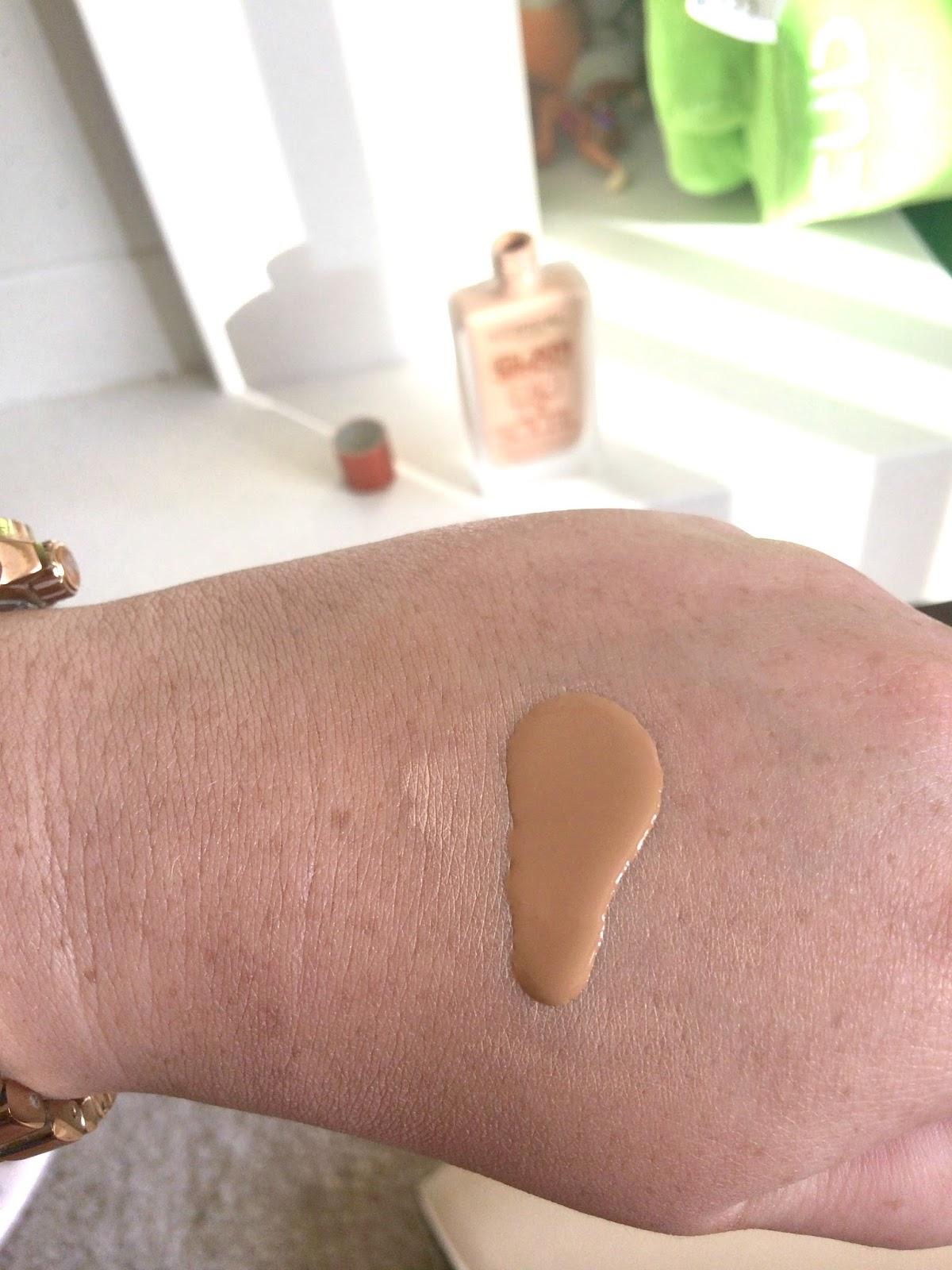 L'oreal glam bronze eau de soleil swatch sample