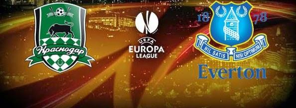 Poker Online : Prediksi Skor Everton vs Krasnodar 12 Desember 2014