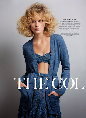Michaela Hlavackova HQ Pictures Marie Claire UK Magazine Photoshoot February 2014