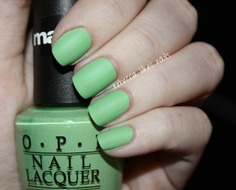 Gargantuan Green Grape Matte Swatch Gargantuan Green Grape
