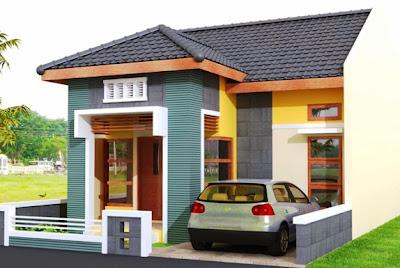 model rumah type 36