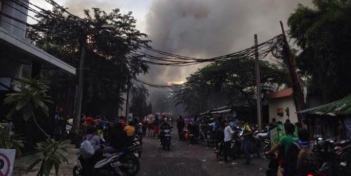Kebakaran di Ruko Serpong Plaza Pakulonan