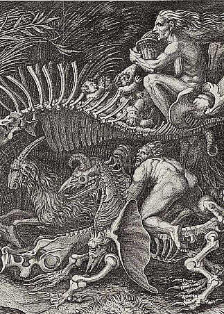 Witchcraft Art The witches rout, 1520,