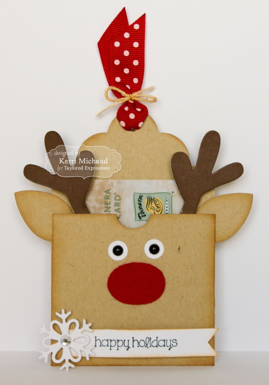 Taylored Expressions October Sneak Peek: Christmas Doodles and Sack It Reindeer  Cards by Kerri