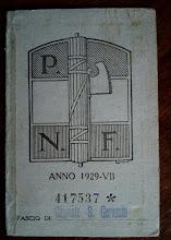 1929 - TESSERA DEL FASCIO DI CAPRIATE S. GERVASIO