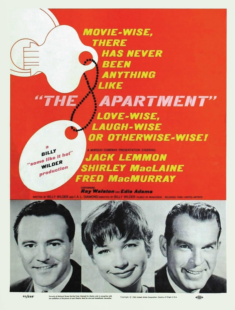 Classic movies the apartment 1960 for The apartment cast
