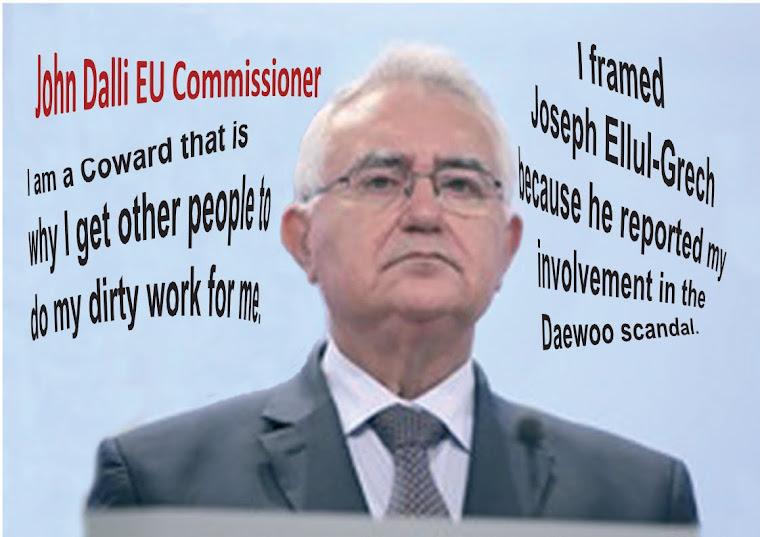 John Dalli A Coward