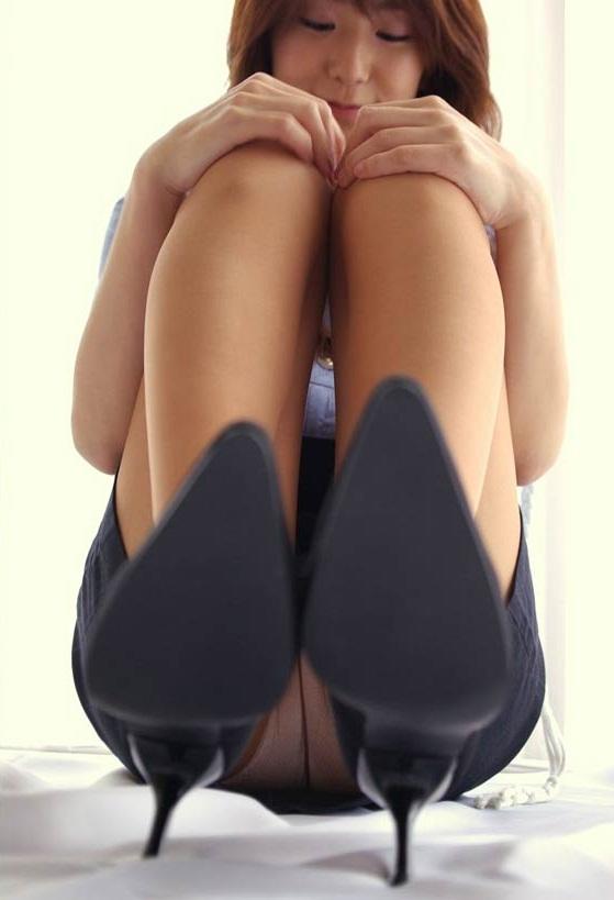 Asian mistress high heels