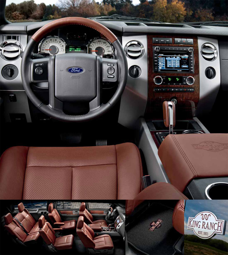 Ford King Ranch Interior: Ford: December 2012