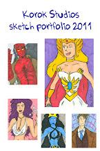 Korok Studios Sketch Portfolio 2011