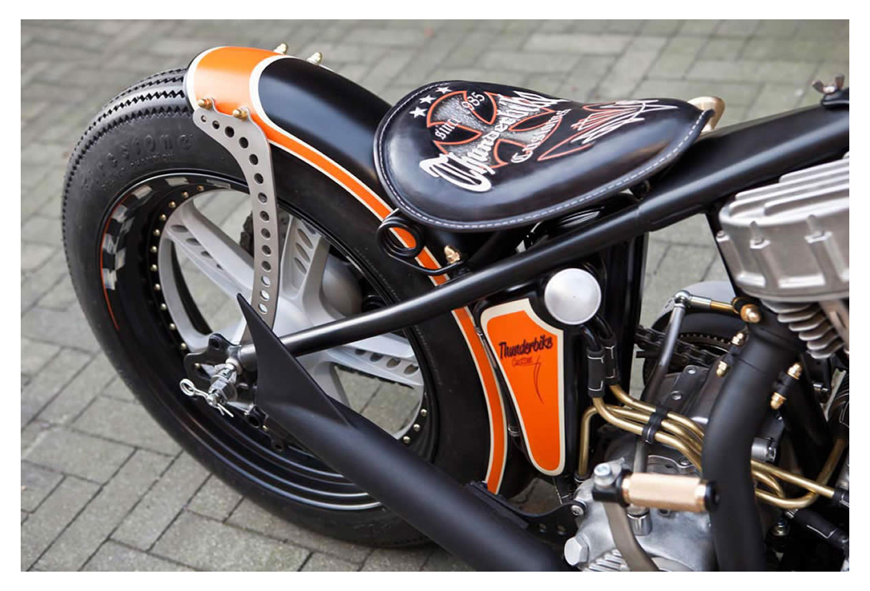 Custom 1951 harley davidson panhead by thunderbike 6 lzk gallery