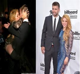 Escena de Amor de Shakira y Piqué