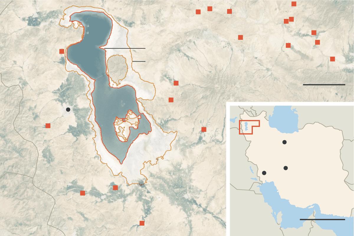 A Research on Lake Urmia Orumieh 2014
