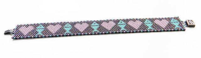 купить браслет из бисера ручной работы анабель делика Anabel