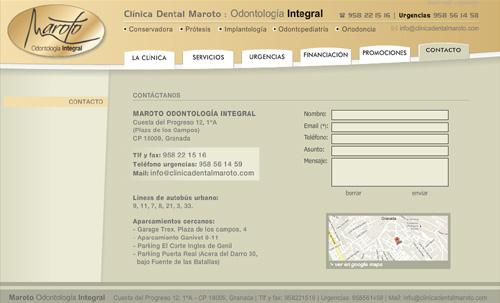 Clínica Dental Maroto Granada: Odontología integral (implantes, prótesis, revisiones, endodoncias, estética dental, limpieza, ortodoncia, periodoncia, odontopediatría, servicio de urgencias...