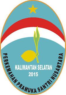 Logo Perkemahan Pramuka Santri Nusantara IV Tahun 2015