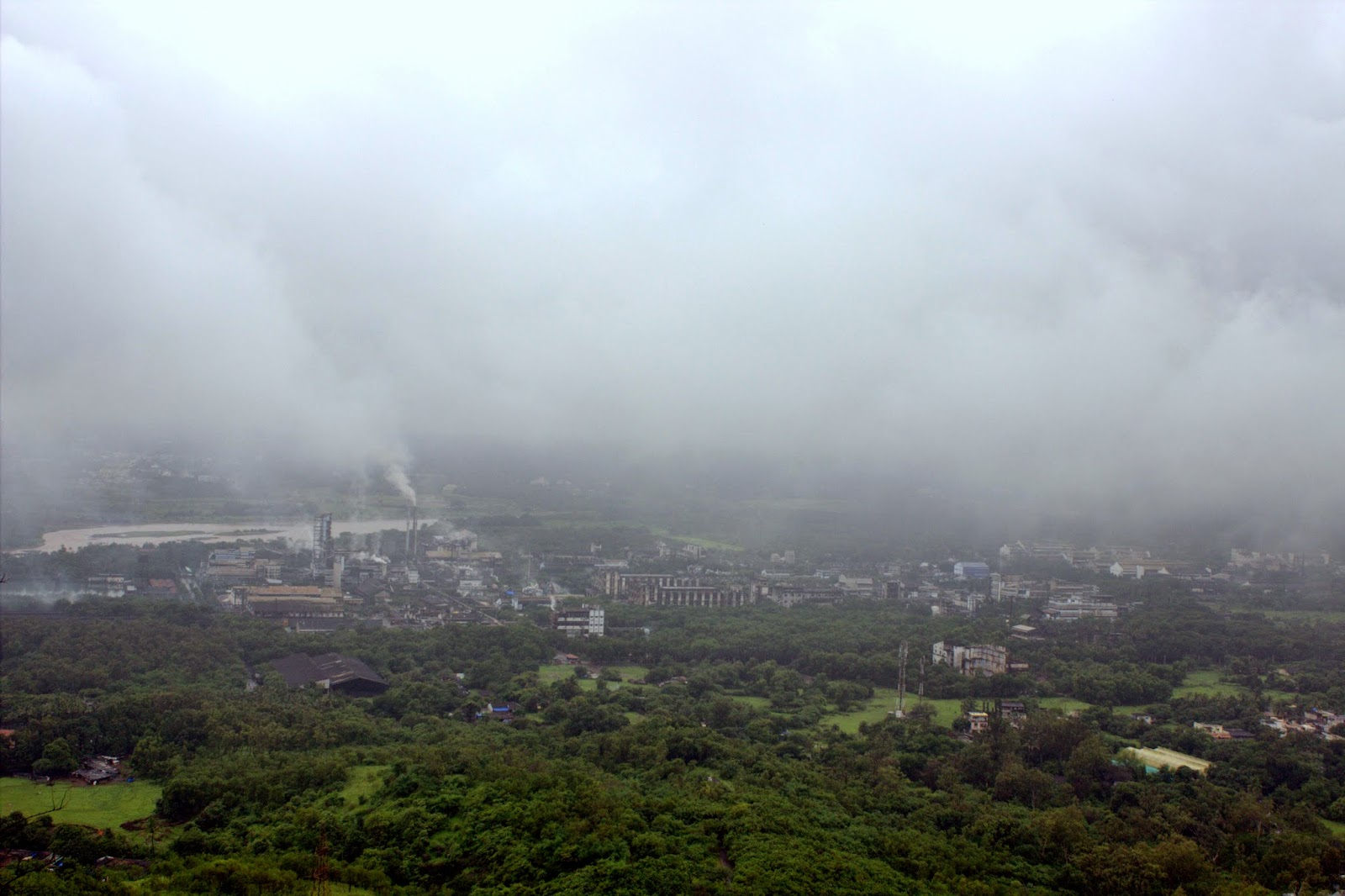 Parnera hill gujarat, Gujarat monsoon