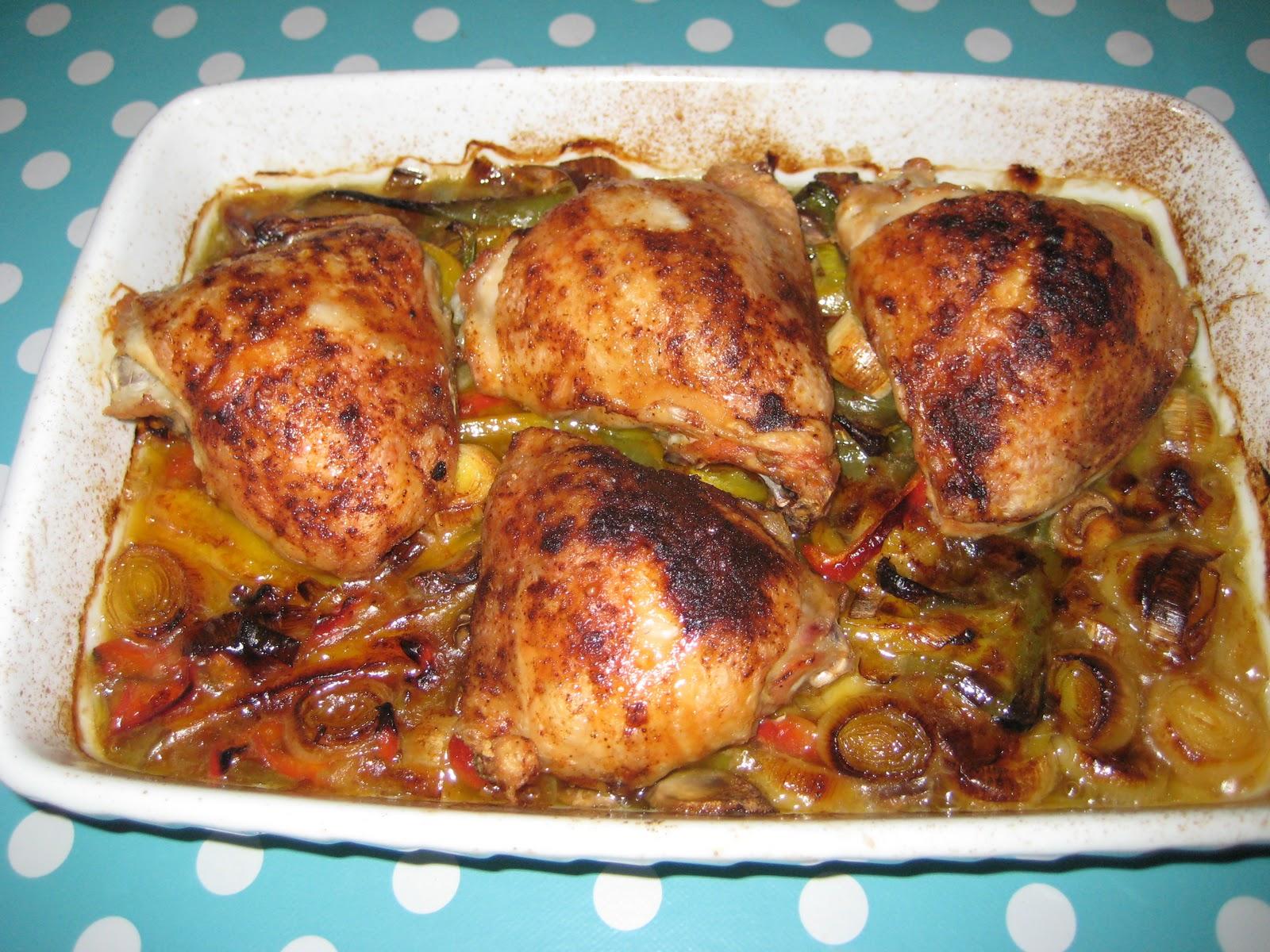 kyllingelår i ovn karry