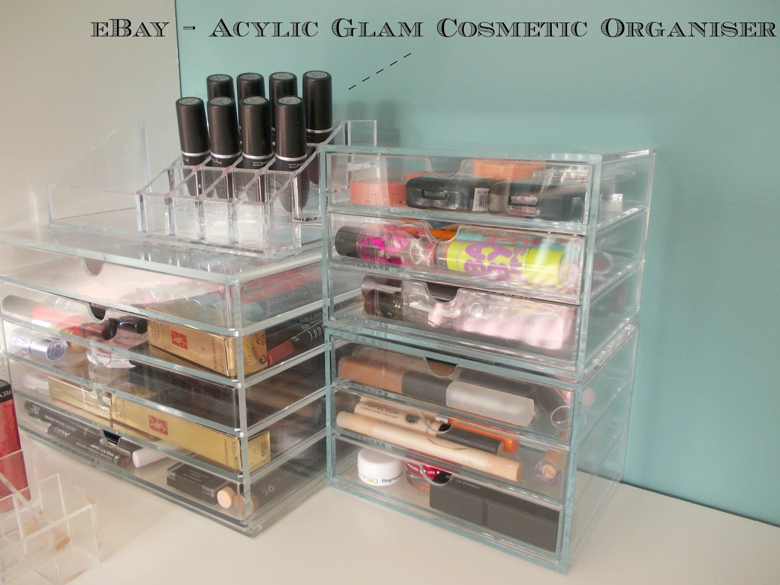 Ikea makeup organizer