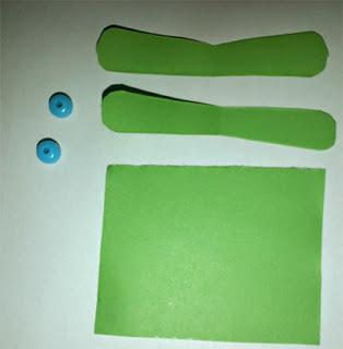 prakarya cara membuat capung kertas 2
