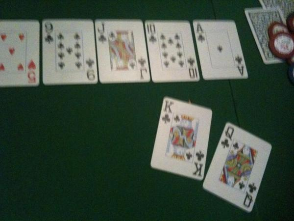 What's a straight flush in poker