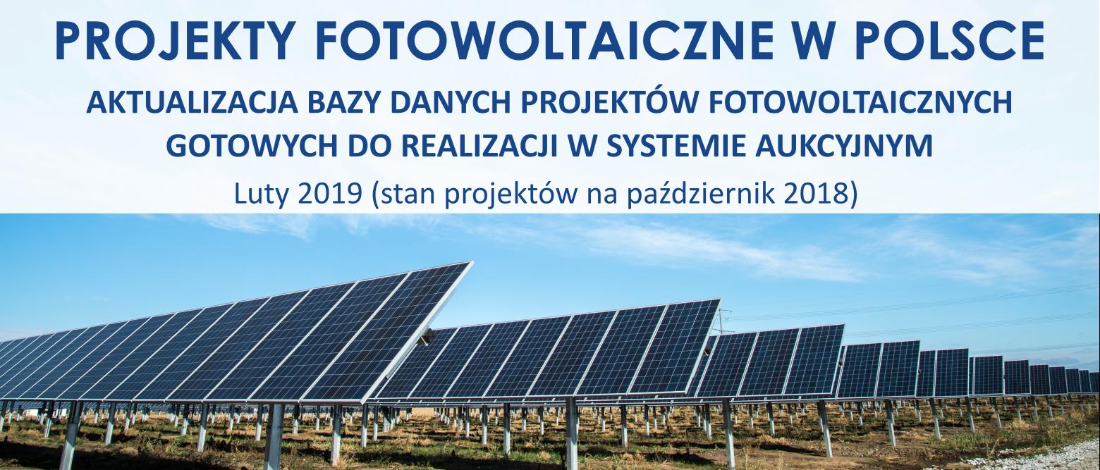 PROJEKTY FARM FOTOWOTAICZNYCH '2019