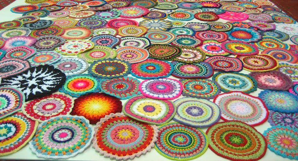 patroon van bloemetjesslinger