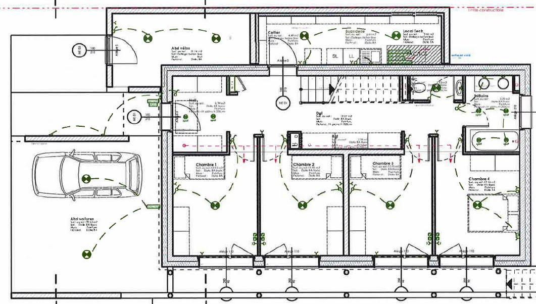 Plan maison passive