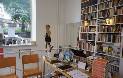 arkadia bookshop inside