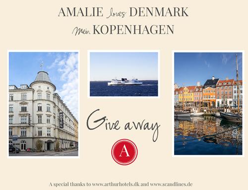 Amalie loves Denmark - Mein Kopenhagen Buch und Give away