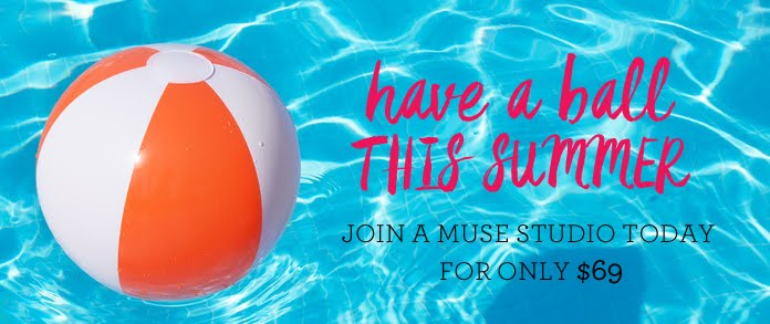 A Muse Studio Summer Sign Up Special. Ends 7/17/16