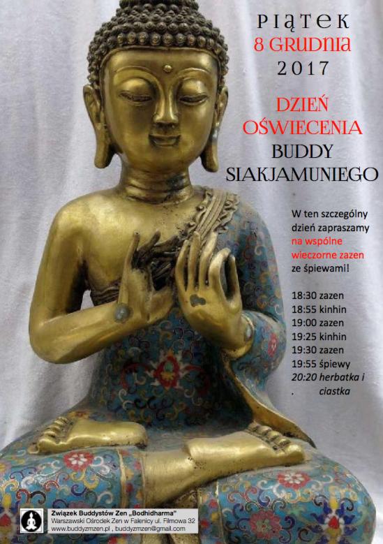 DZIEŃ Oświecenia Buddy Siakjamuniego