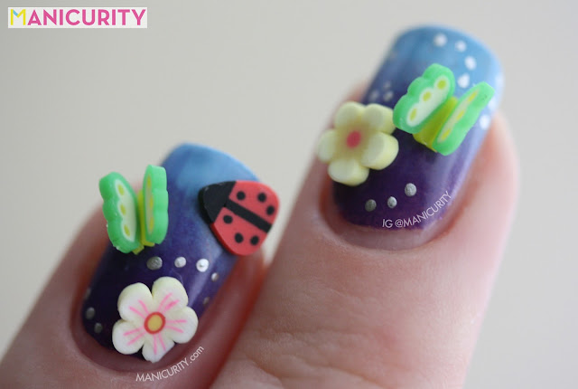 Manicurity | 3D fimo nail art inspired by pop-up books (not-practical, but adorable!)