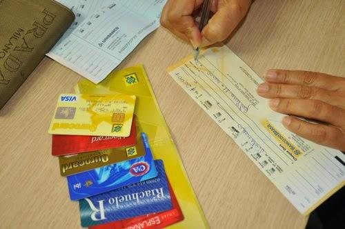 Cheque x Cartão
