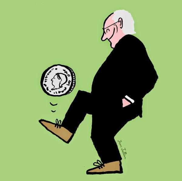 Jean Julien: Sepp Blatter.