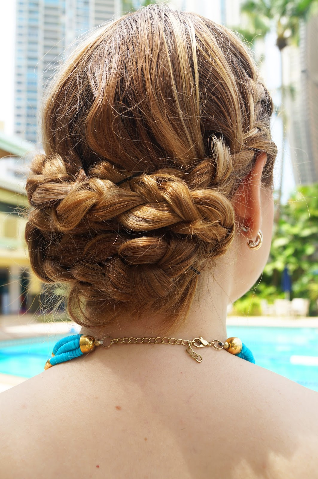 Braided Updo, Elegant Hairstyle