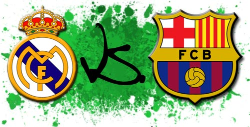 real madrid vs barcelona 2011 logo. real madrid vs barcelona april