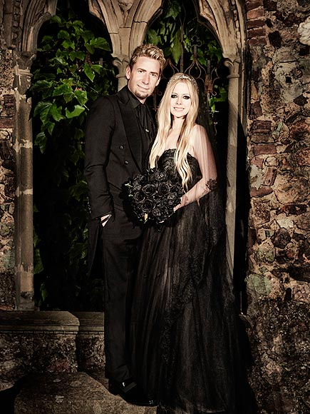 Avril Lavigne and Chad Kroeger summers hottest wedding 2013