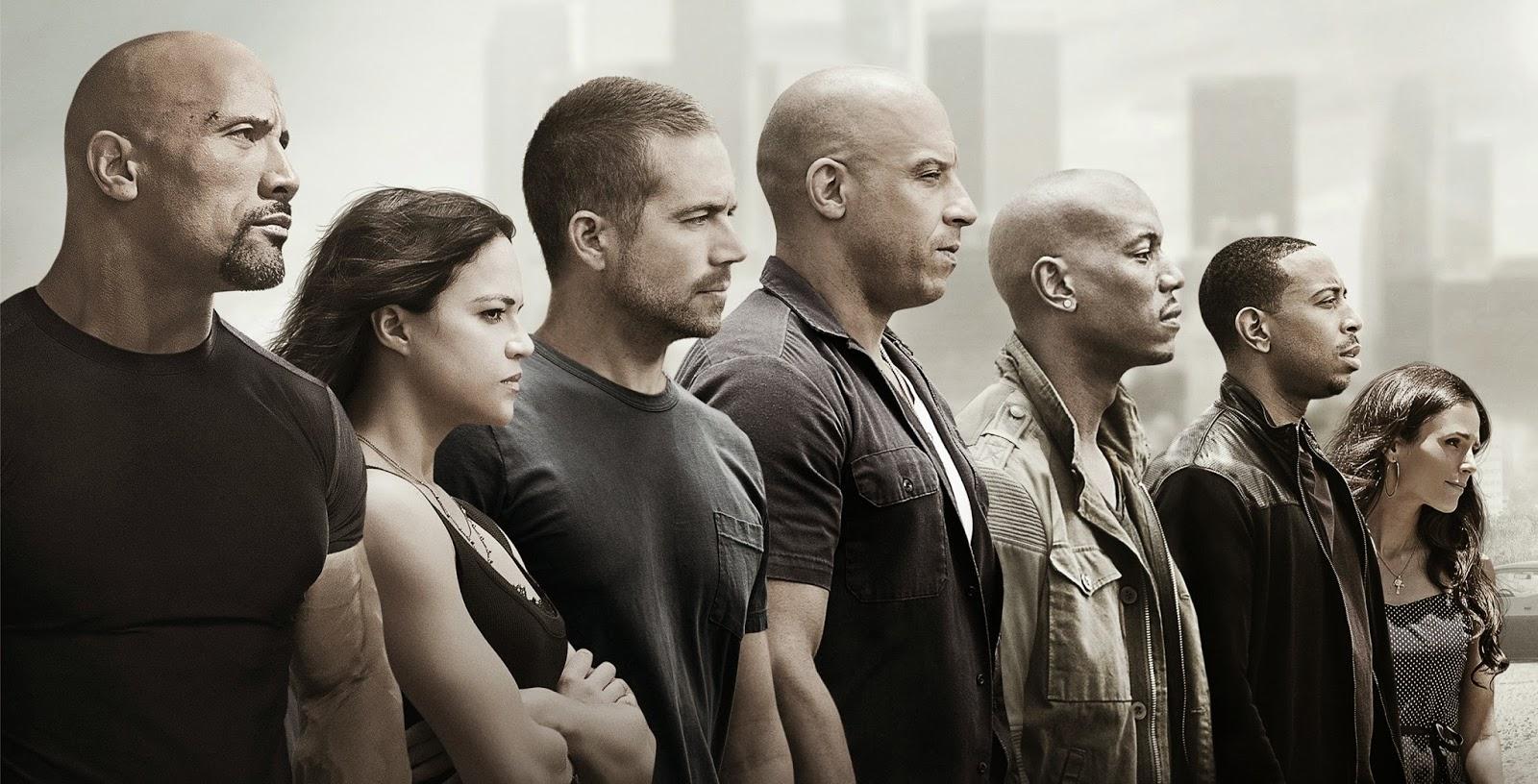 Velozes e Furiosos 7 passa a marca de US$1 bilhão e é o maior sucesso de bilheteria da Universal