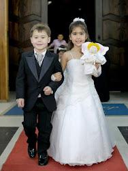 Noivinhos do Casamento de Bruna - Bagé/RS