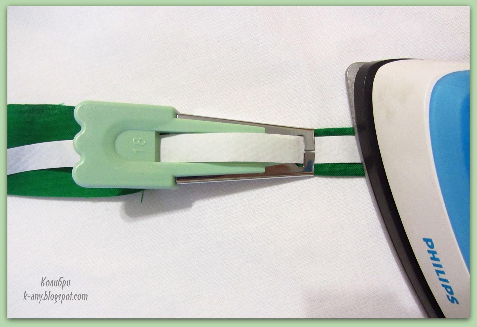 Приспособление для косой бейки из бумаги