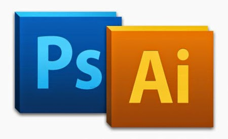 Adobe Photoshop and Adobe illustrator