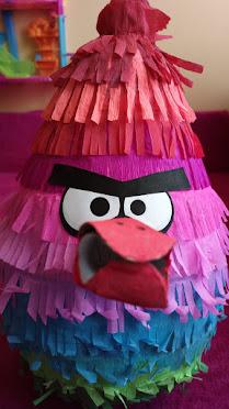 Tęczowy Angry Birds - prezent urodzinowy
