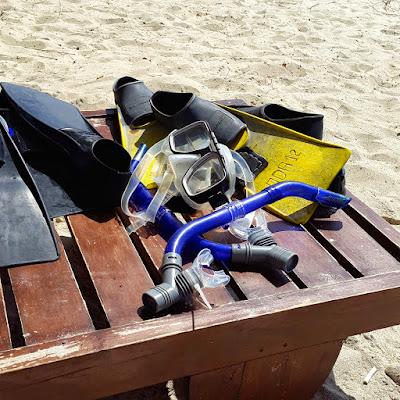 Fun water activities at Lombok