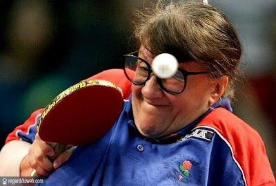 Photos comiques et incroyables Sport - Tennis de table v32