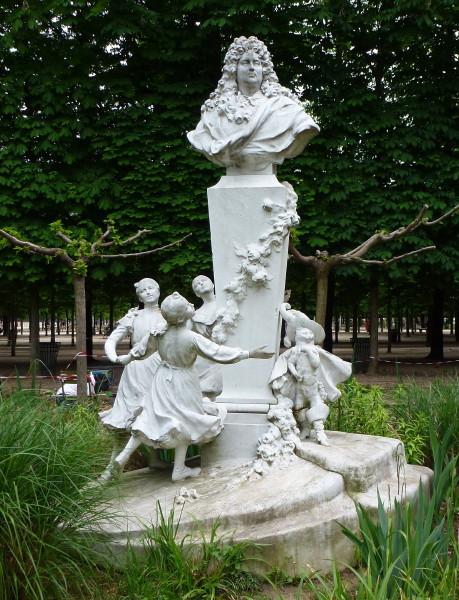 La main des tuileries - Sculpture jardin des tuileries ...