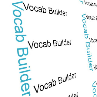 Vocab Builder: E