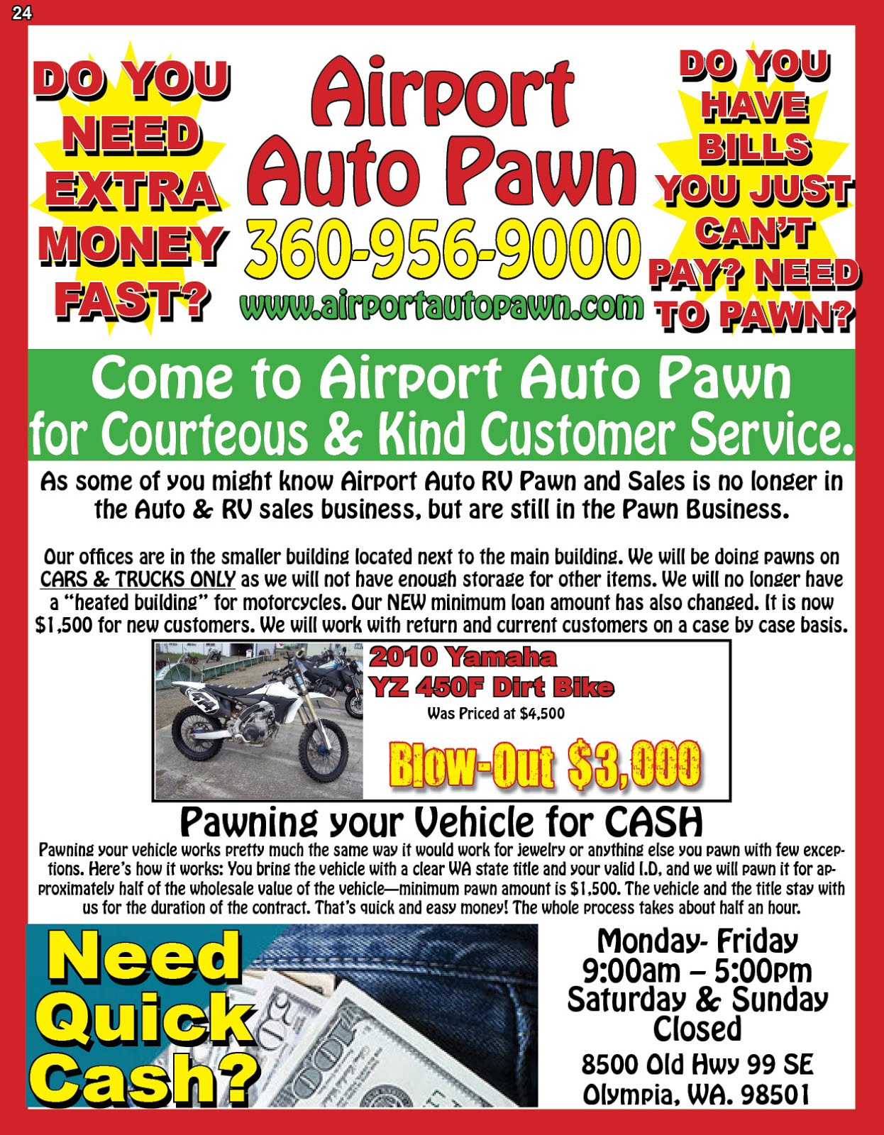 Airport Auto Pawn  Do You Need Extra Cash Fast?