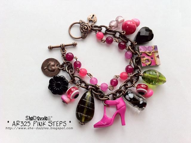 barbie-pink-charm-bracelet-malaysia
