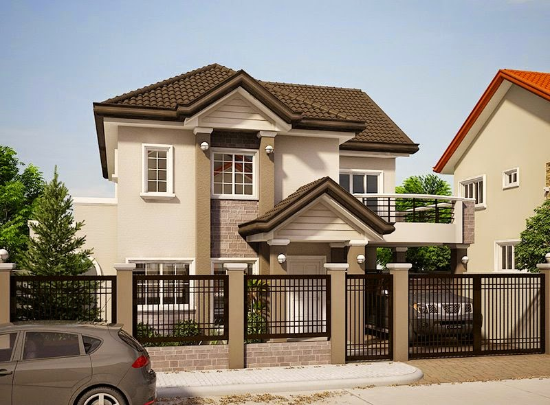 33 beautiful 2 storey house photos for 2 story house design